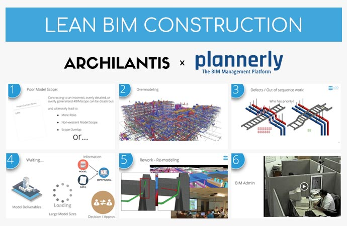 lean bim construction - archilantis plannerly indonesia - bim lean construction