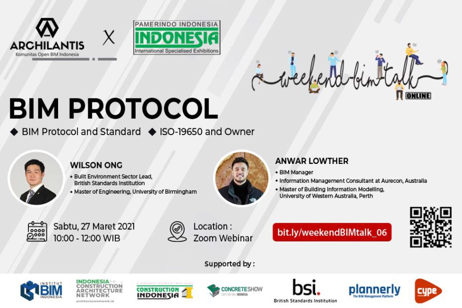 Weekend BIM Talk Online 27 Maret - Web Banner