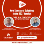 new structural solutions in CYPE 2021 version - archilantis x cype indonesia