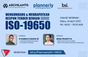 Archilantis x Plannerly - ISO 19650 - web banner